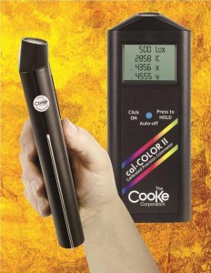 cal color light meter for exact mearurement
