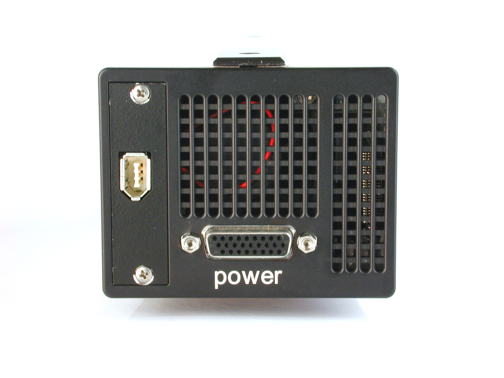 pco.1600 CCD camera system rear view image Firewire