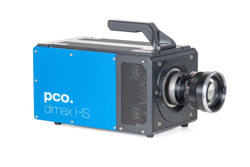 pco.dimax HS highspeed camera front right side image