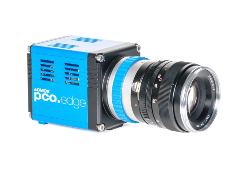 pco.edge 5.5 Camera Link sCMOS front side view